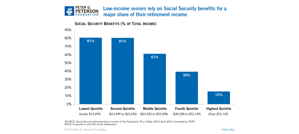 impact of social security privatization on the elderly Privatizing social security 533 i introduction public debate about privatizing the us social security system has intensified in recent years.