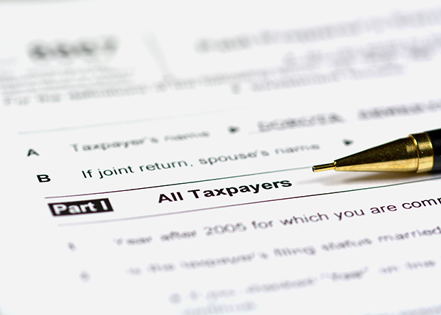 Taxpayers form