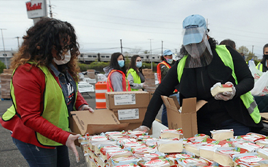 coronavirus relief efforts