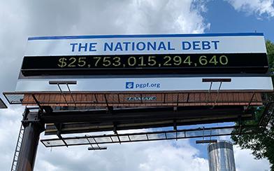 National Debt Clock Atlanta GA