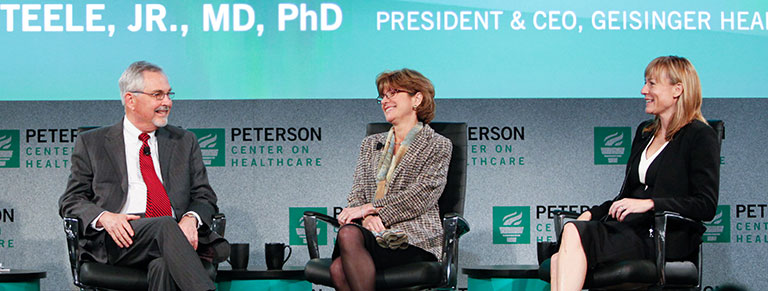 The Peterson Center on Healthcare is helping to make healthcare better.