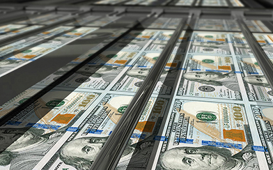dollars printing