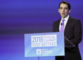 Michael A. Peterson delivers opening remarks at the 2018 Fiscal Summit