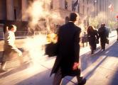 Wall Street Pedestrian