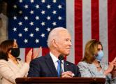 President Joe Biden delivers speech to a joint session of Congress.