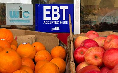 EBT accepted here