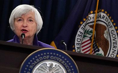 Federal Reserve Chair Janet Yellen speaks during a news conference December 13, 2017 in Washington, DC.